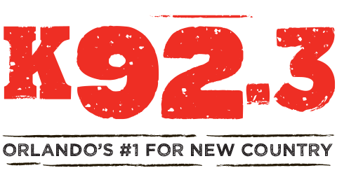 K92.3 - Orlando's #1 for New Country Logo
